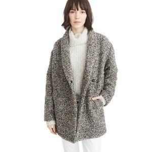 Abercrombie & Fitch  Black and Grey Boucle XL